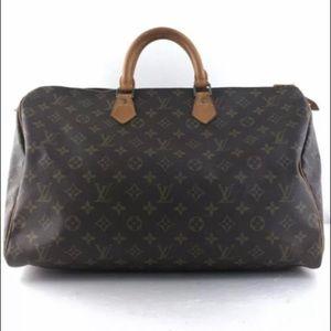 ❤️AUTHENTIC LOUIS VUITTON Speedy 40 Hand Bag Purse